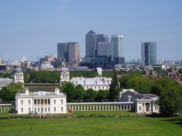 View across Greenwich Park