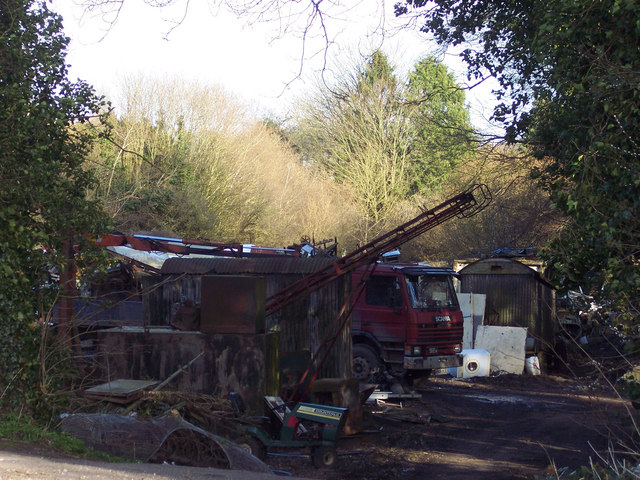 Scrapyard near Hindon