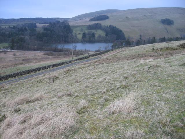 Towards Glenbuck  Loch from Belt Knowe