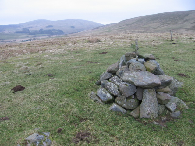 Cairn on Earl Hill