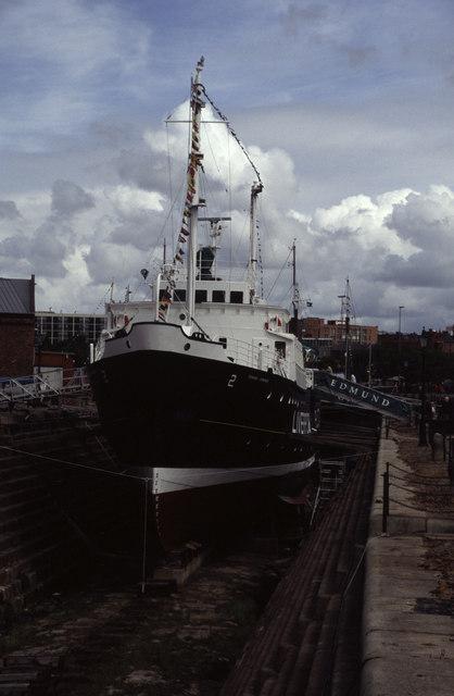 The pilot boat Edmund Gardner