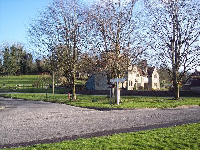 Village green at Fonthill Bishop