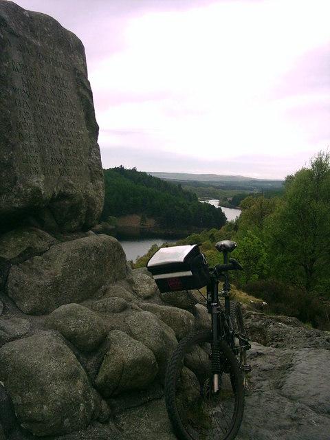 Loch Trool from Bruce's Stone