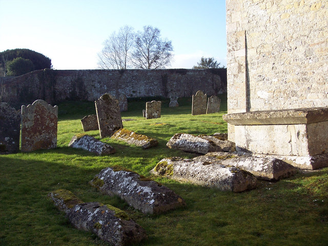Churchyard at All Saints Church, Fonthill Bishop