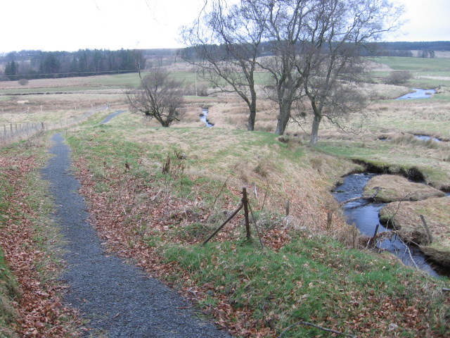 River Ayr Way by Upper Wellwood