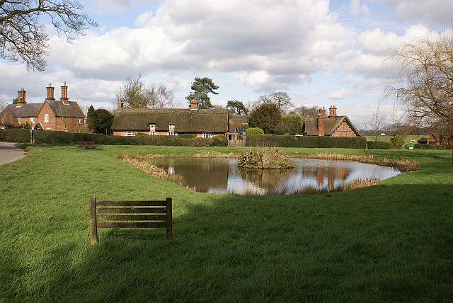 Osmaston village pond