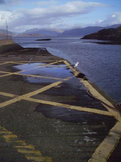 Empty Pier, Kyleakin.