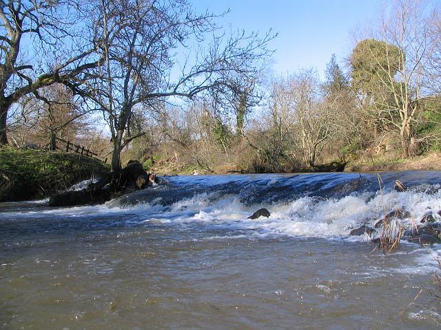 Weir above Sandy's Mill