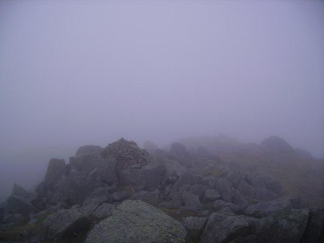 Summit Cairn, Rossett Pike