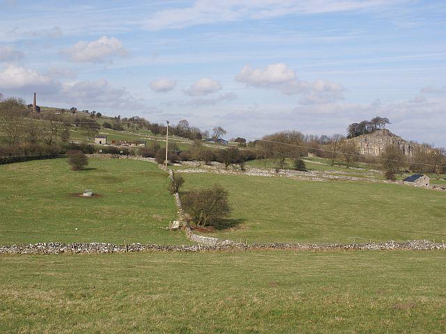 Farmland near Middle Peak Quarry