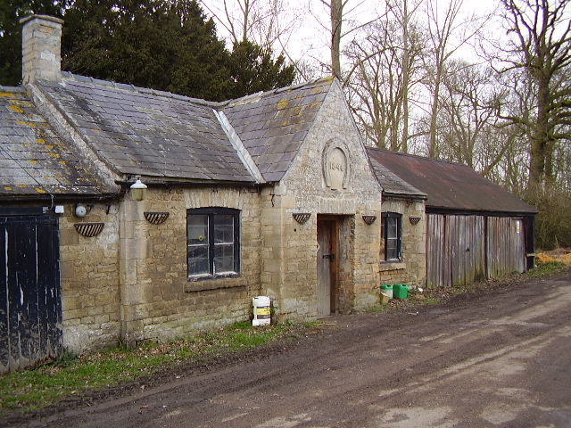The old forge or blacksmiths shop