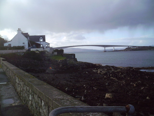 Skye bridge from Kyleakin pier.