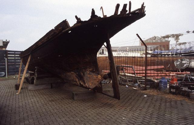 """The Rifle"", Scottish Maritime Museum, Irvine"