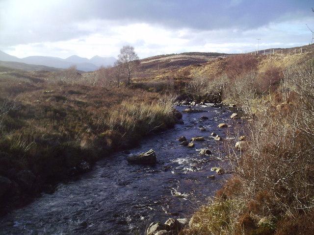 River (Allt Mor) in Glen Arroch.