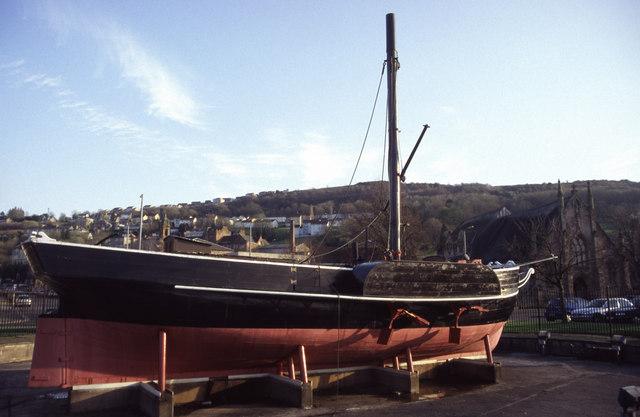 The replica Comet, Port Glasgow