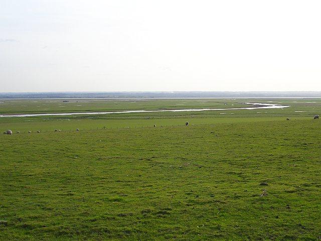 Capel Fleet from Capel Hill Farm