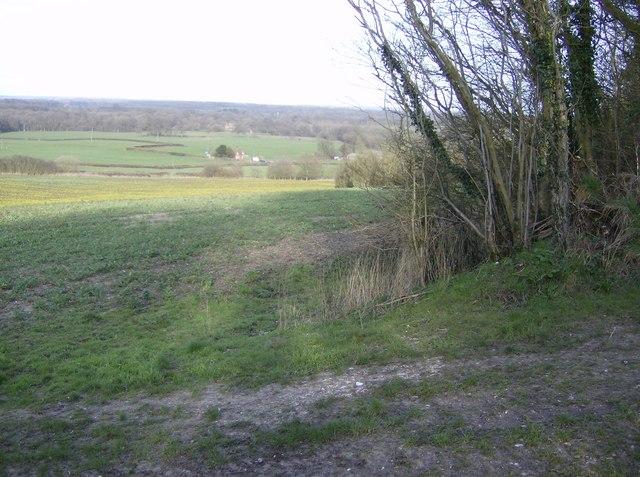 Towards Duncroft Farm