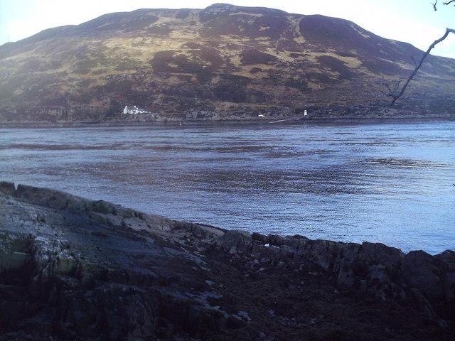 Glenelg ferry terminal from Kylerhea
