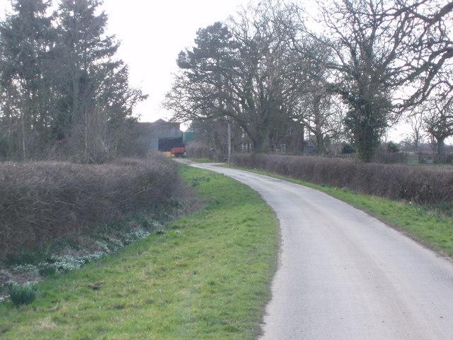 Private Road to Demesne Farm and Newton Grange
