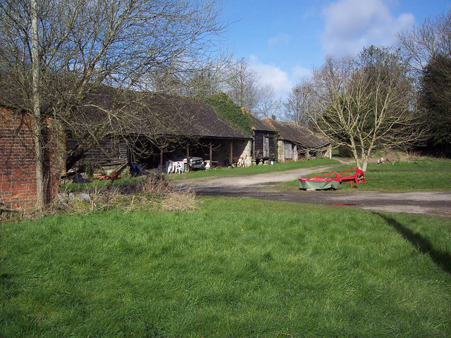 Manor Farm near Sutton Mandeville