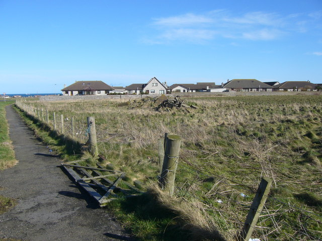 Modern housing estate at Cairnbulg/Inverallochy