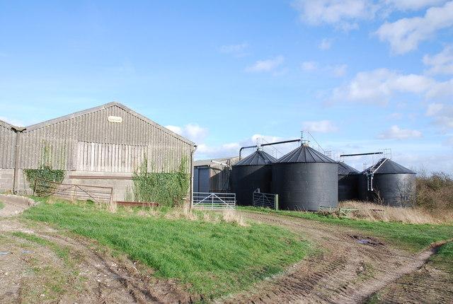 North Hill Farm buildings