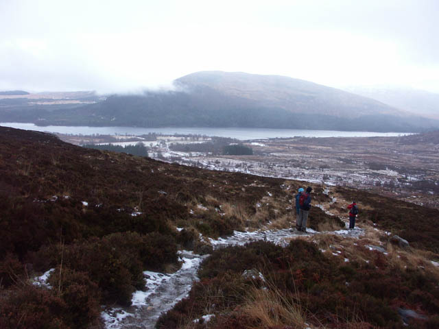 The path to Lochan a Choire