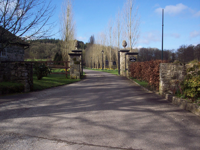 Entrance to Squalls Farm, Ansty
