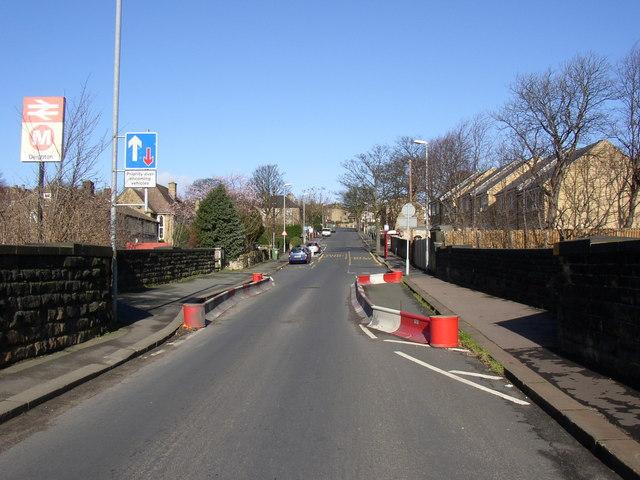 Weak bridge, Whiteacre Street, Deighton, Huddersfield