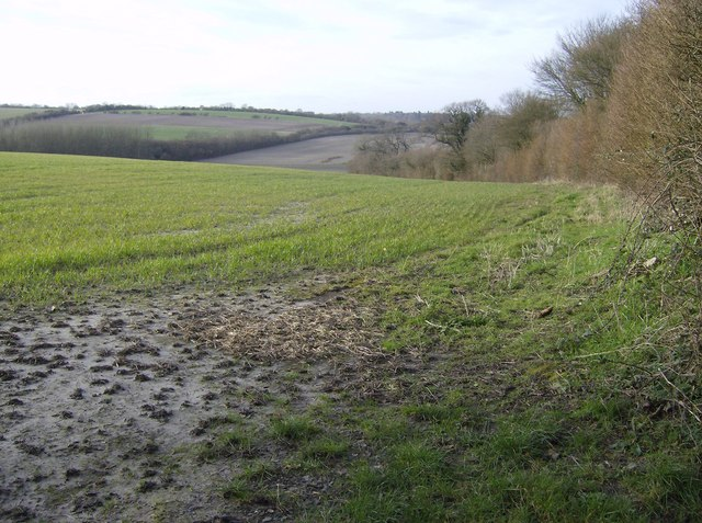 Farmland near Wergs Farm