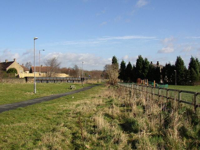 Birkby to Bradley Greenway off Deighton Road, Deighton, Huddersfield