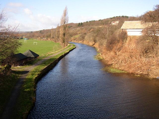 The Huddersfield Broad Canal, Deighton, Huddersfield
