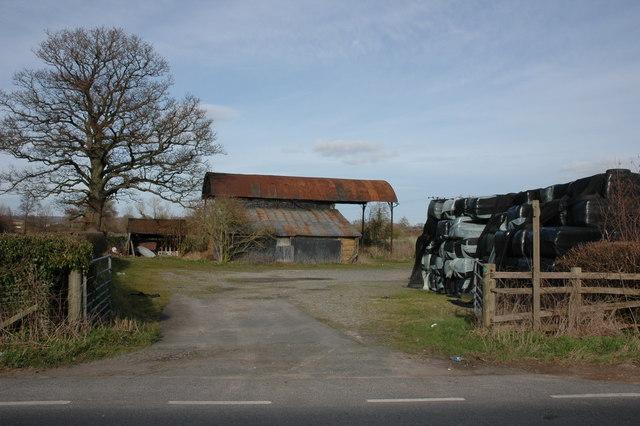 Farm buildings at Cobnash