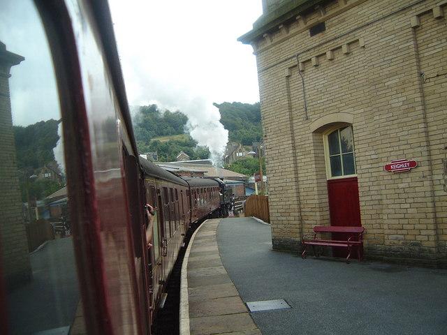Keighley Railway Station.  Worth Valley Railway.