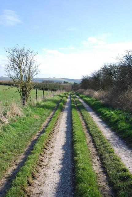 Track to North Barn