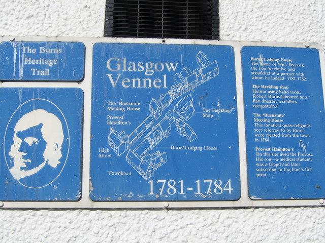 Glasgow Vennel, Irvine