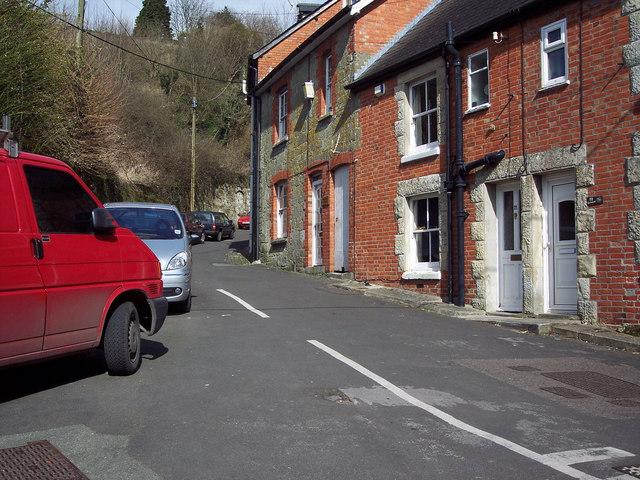Bottom of Gold Hill, Shaftesbury
