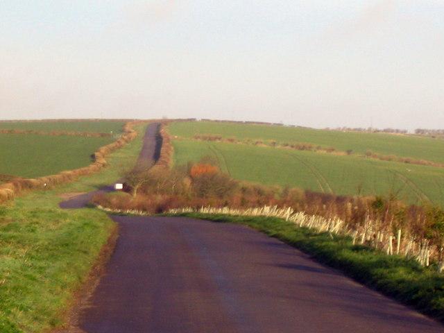 Roman Road near Compton Valence