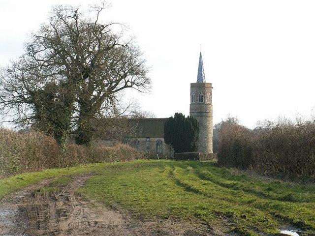 St George's Church, Shimpling, now redundant