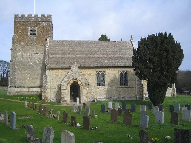 Steeple Barton: Church of St Mary