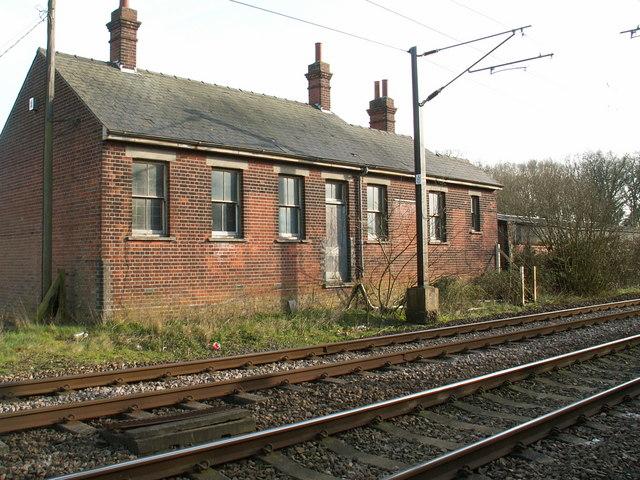 Site of Burston Station