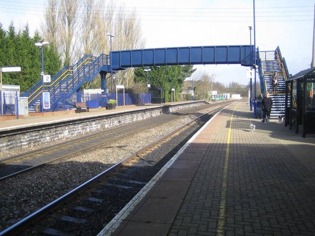 Heyford railway station