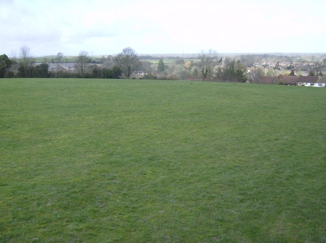 Playing fields above Kingsclere