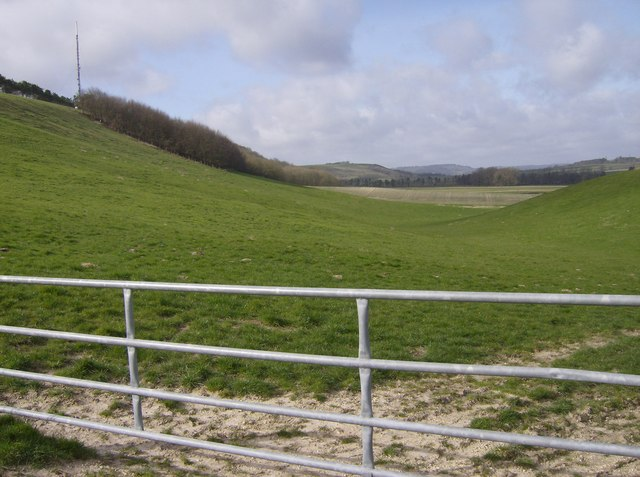 Combe above Kingsclere