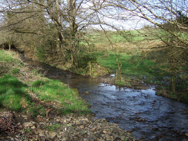Stream near Boasley Cross