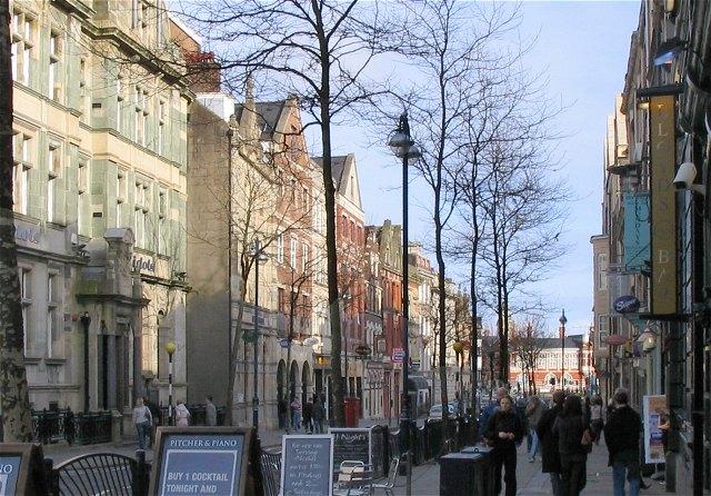 Wind Street, Swansea (Recreated)