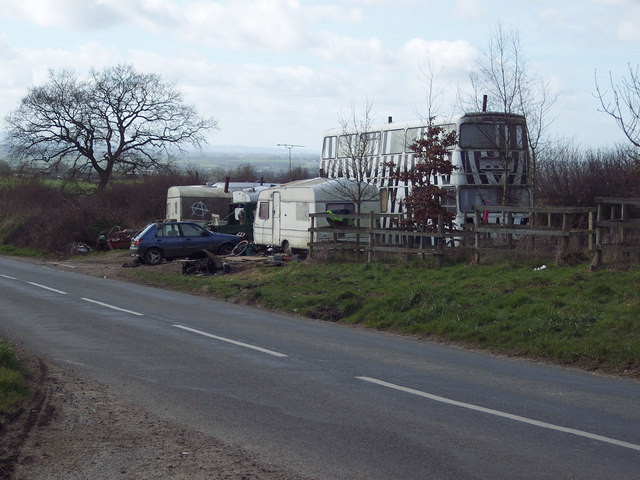Travellers' Encampment near Shaftesbury