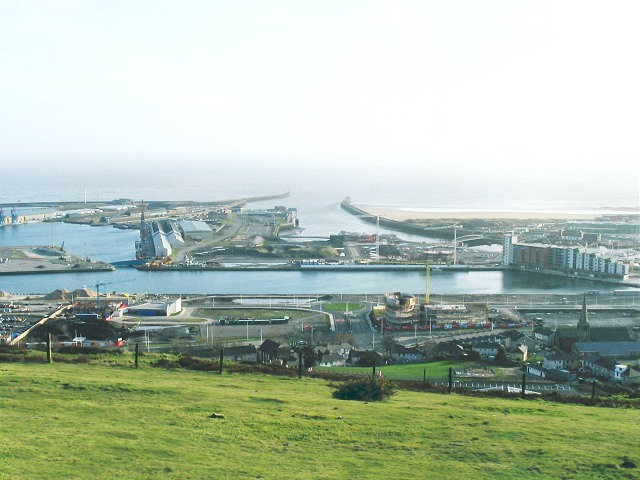 Swansea SA1 from Kilvey Hill