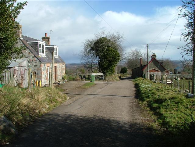 Houses at Black Dyke