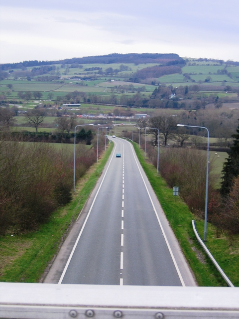 A5 to Llangollen